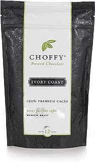 Choffy, Ivory Coast, Brewed Chocolate, Cocoa, Medium Roast, 12 oz.