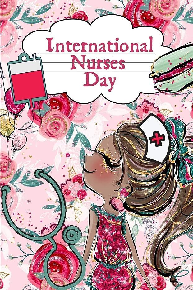 懇願する特許思いつくInternational Nurses Day: May 12th Gift: This is a blank, lined journal that makes a perfect International Nurses Day gift for men or women. It's 6x9 with 120 pages, a convenient size to write things in.
