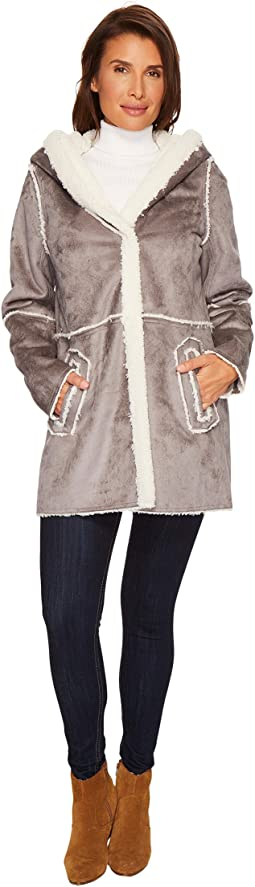Hatley - Hooded Faux Shearling Jacket