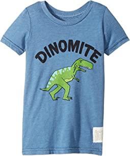 The Original Retro Brand Kids - Dinomyte Short Sleeve Heather Tee (Toddler)