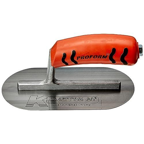 "Kraft Tool Plexi Plastic Concrete Trowel 16/"" x 4/"" ProForm Handle"