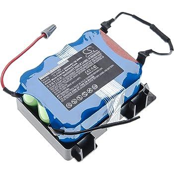 vhbw batería compatible con Bosch BBHMOVE3/03, BBHMOVE301, BBHMOVE3AU/03, BBHMOVE3N/01 aspiradora robot de limpieza (2000mAh, 14.4V, NiMH): Amazon.es: Hogar