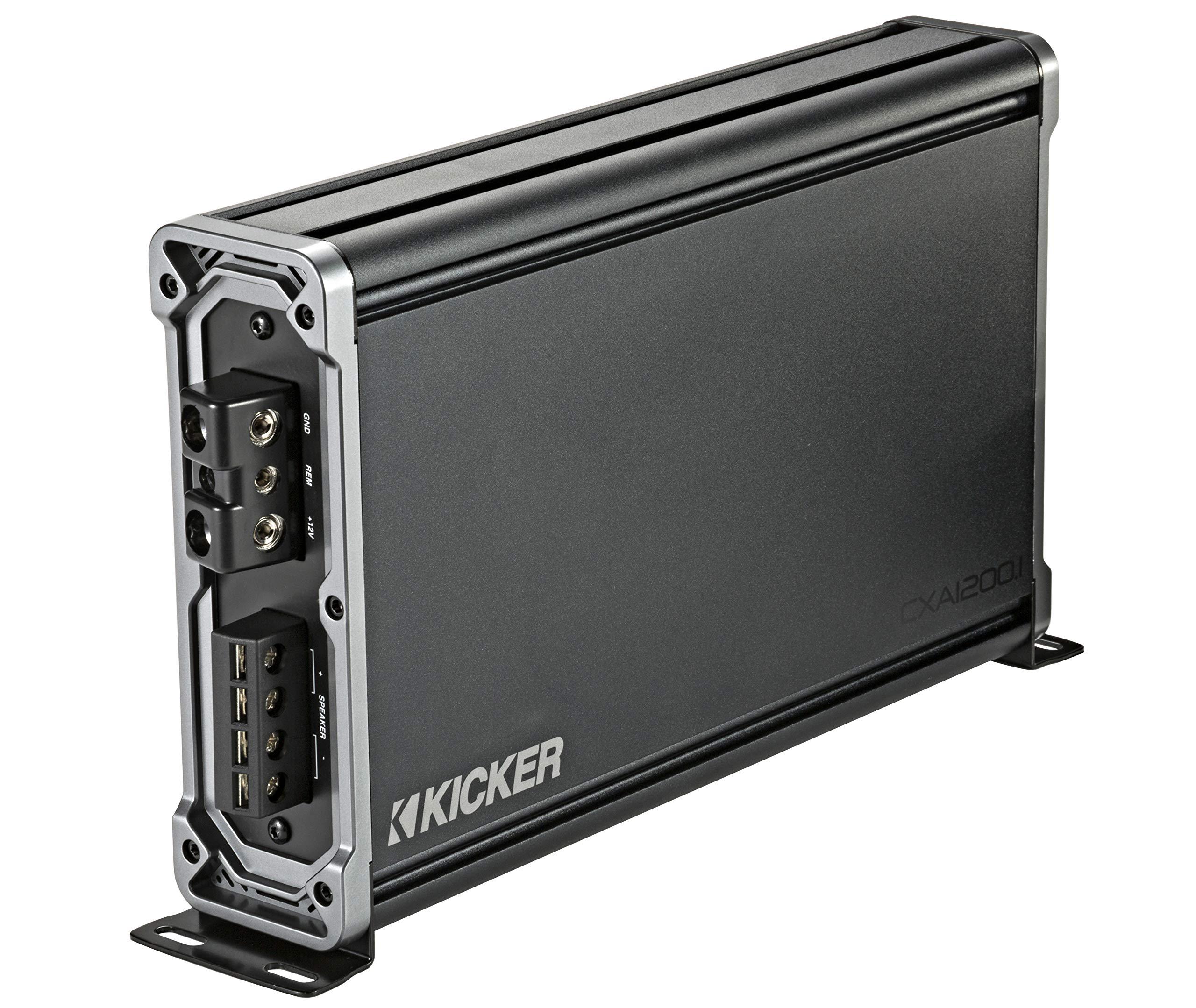 Kicker 43 cxa12001 classd Amplifier Negro: Amazon.es: Electrónica