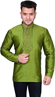 Desi Sarees Mens Kurta Short Shirt Tunic Wedding 2017
