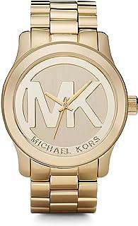 Michael Kors Runway Reloj tono dorado para mujer MK5473