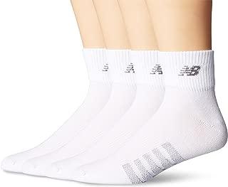 New Balance Unisex 2 Pack Technical Elite Thin Quarter with Coolmax Socks