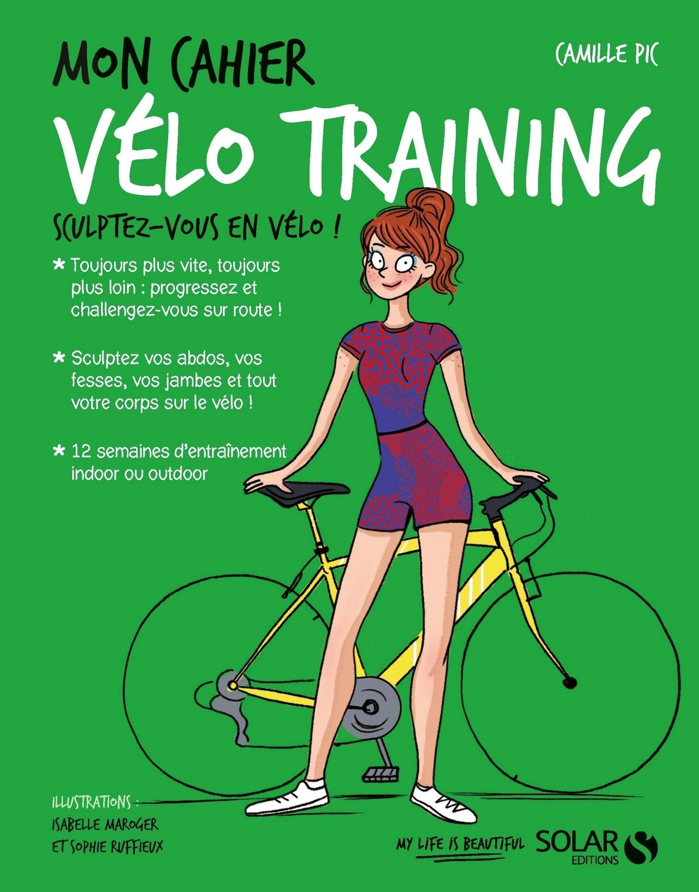 Image OfMon Cahier Vélo Training (French Edition)