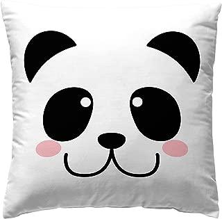 Martina Home Panda Funda Cojín Decorativa, Tela, 50 x 50 cm