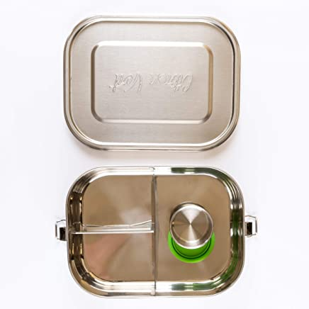 Citron Vert Stainless Steel Lunchbox 3 Compartment