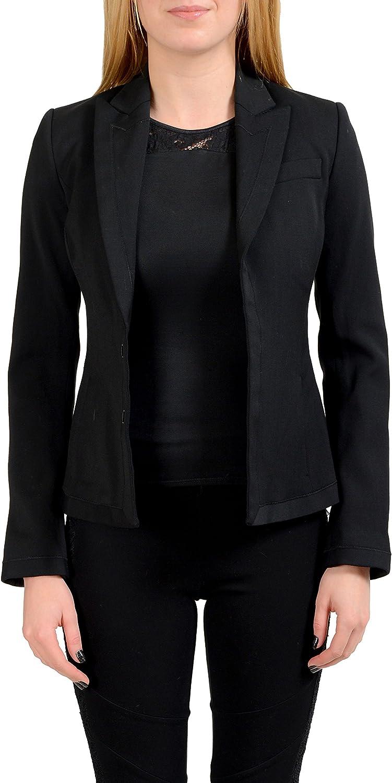 Dsquared2 Wool Black Women's Blazer US S IT 40