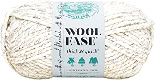 (3 Pack) Lion Brand Yarn Article #640 - Wool-Ease Thick & Quick Yarn 3-Pack 640-402