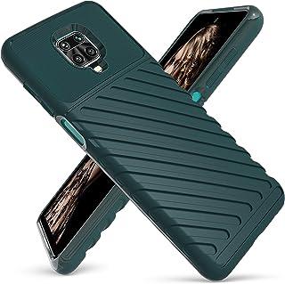 [KOSPH] for Xiaomi (Redmi Note 9S /Redmi Note 9 Pro/Redmi Note 9 Pro Max) Shockproof Armor Case, Soft But Tough TPU Back C...