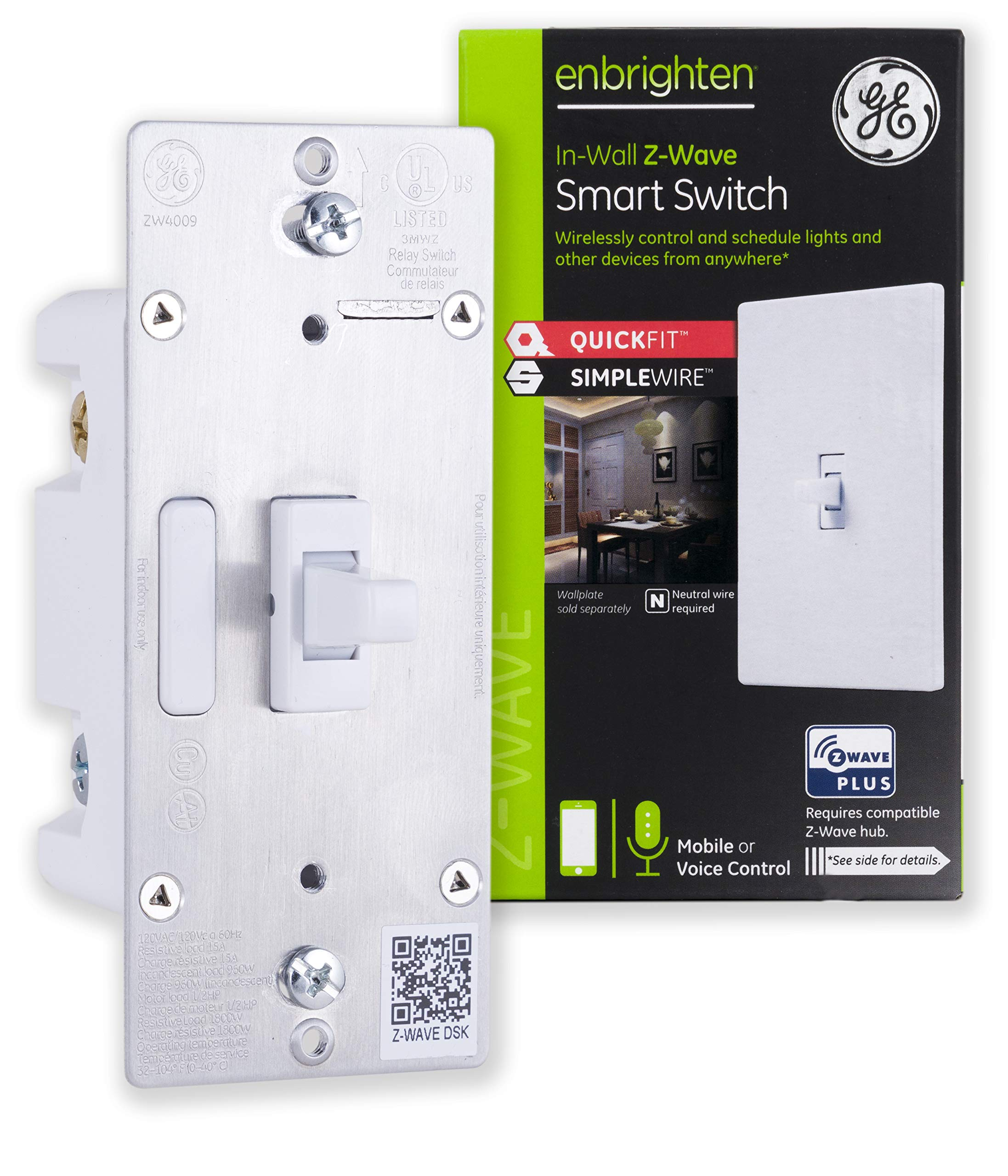 GE Enbrighten SimpleWire SmartThings 46202
