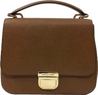 Michael Kors Bridgette MD Messenger Leather Luggage (35T8GBDM2L)