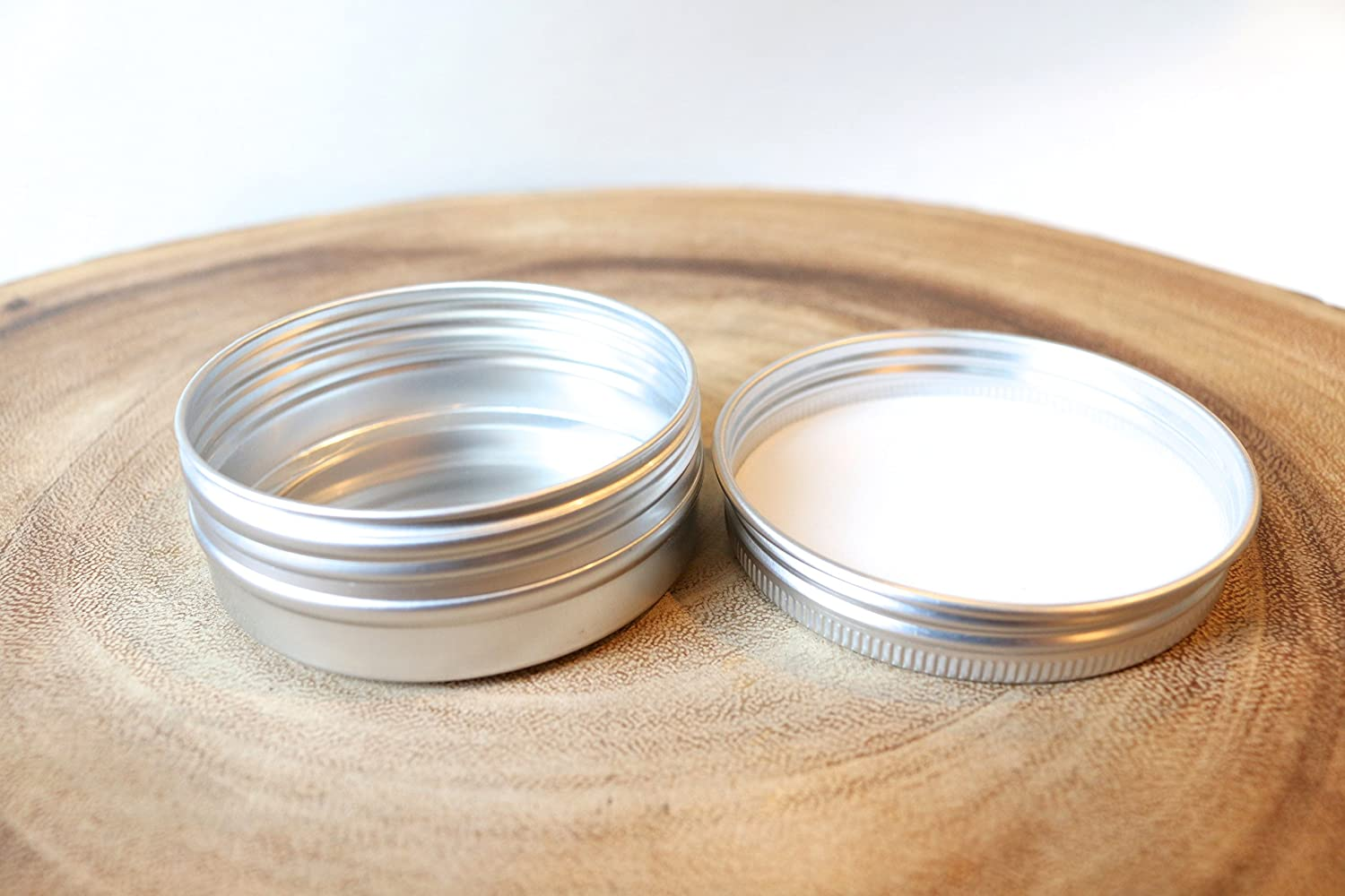 1oz Screw Top Round Tin Containers for All items in the Max 76% OFF store Candles Crafts Cosmetics