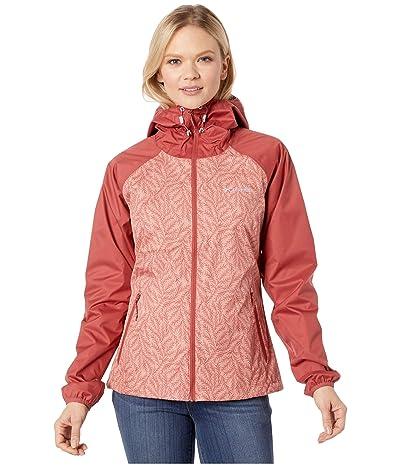 Columbia Ulicatm Jacket (Dusty Crimson/Cedar Blush Ferny Ferns Print) Women