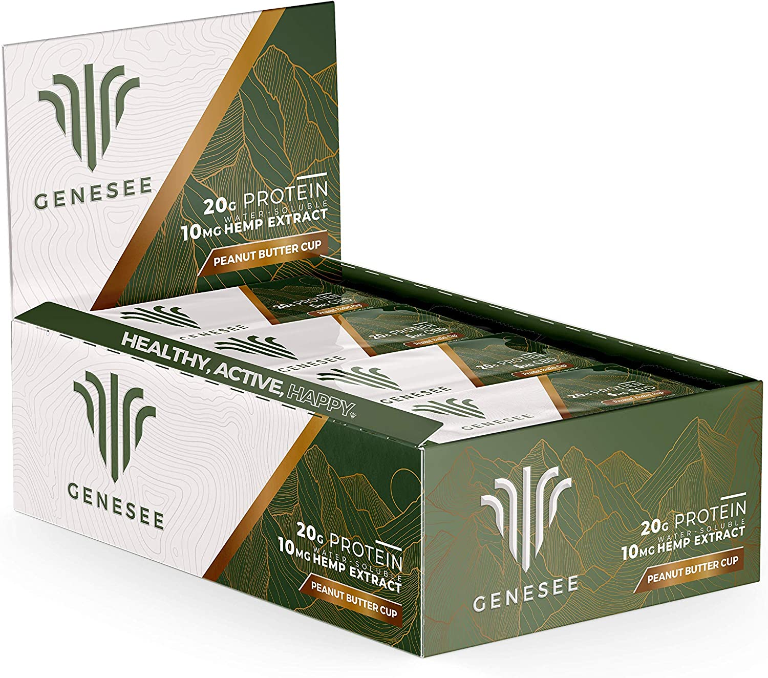 At the price Genesee Peanut Butter Cup Protein Hemp Extrac Award Bar High