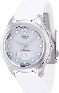 Tissot Women's White Dial Rubber Band Watch - T075.220.17.017.00