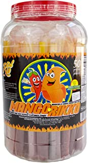 Mango Rikko, Banderilla Sabor Mango Con Chile Martajado: Mango and Red Pepper Flavored Candy (50 Pieces)