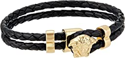 Medusa Leather Bracelet