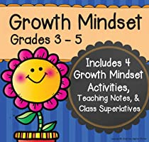 Growth Mindset Grades 3-5: Four Activities Included