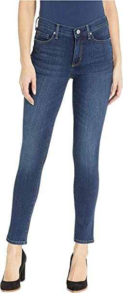 High-Rise Skinny Jeans in Blue