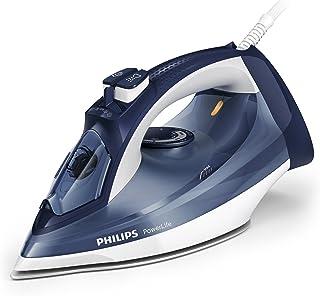 Philips GC2994/20 Fer à repasser 2400 W, Débit de vapeur continu 40 g/min, Effet pressing 150 g, Semelle SteamGlide - Bleu...