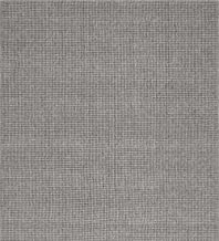 Wool Blend Dalton Rectangular Rug Low Profile Fire Resistant for Fireplace and Home 24 x 42 - Ash