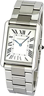 cartier tank solo watch women's
