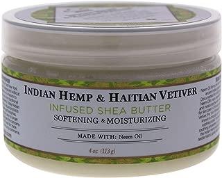 Nubian Heritage Shea Butter Lotion, Indian Hemp, 4 Ounce