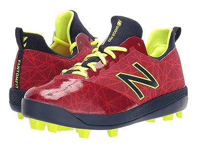New Balance Kids Lindor Pro Youth Baseball (Little Kid/Big Kid) (Red/Navy) Kids Shoes