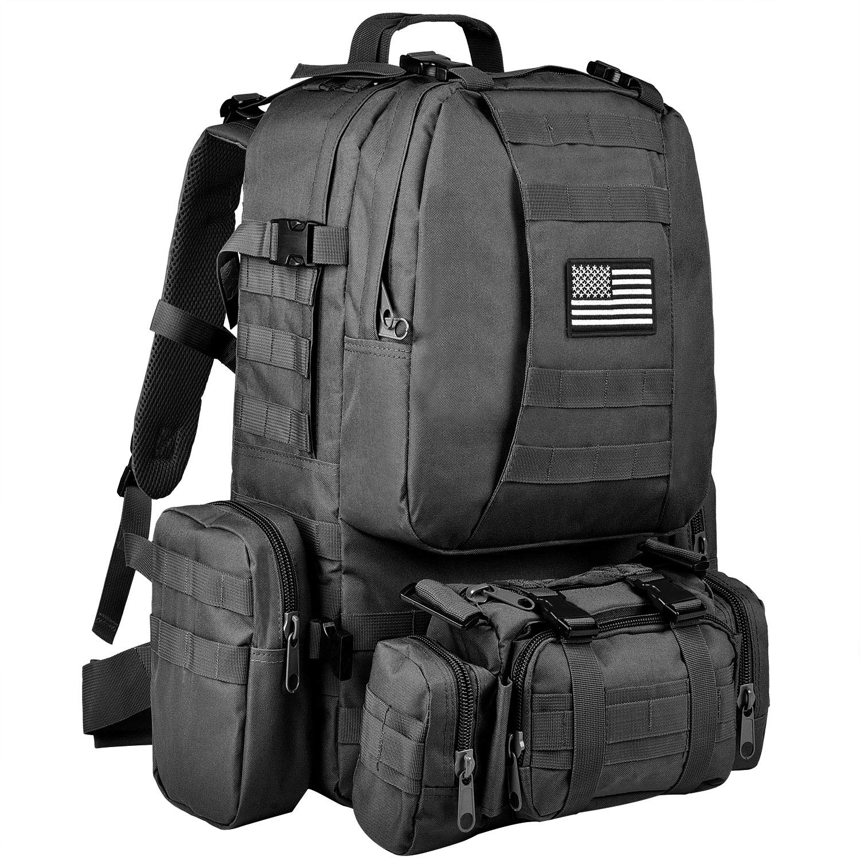 CVLIFE Tactical Military Backpack Rucksacks