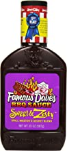 Famous Dave's BBQ Sauce Sweet & Zesty, 20-Ounce (Pack of 6)