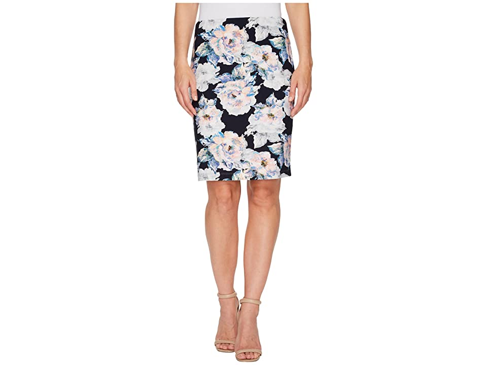 Karen Kane City Skirt (Floral) Women