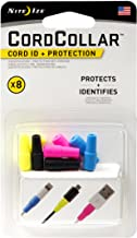 Nite Ize CordCollar, Cord Identification and Protection, 8-Pack, Assorted Colors
