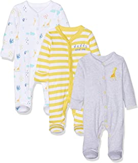 0eab0970a495b Mothercare Mummy and Daddy Sleepsuits - 3 Pack - Body - Mixte bébé