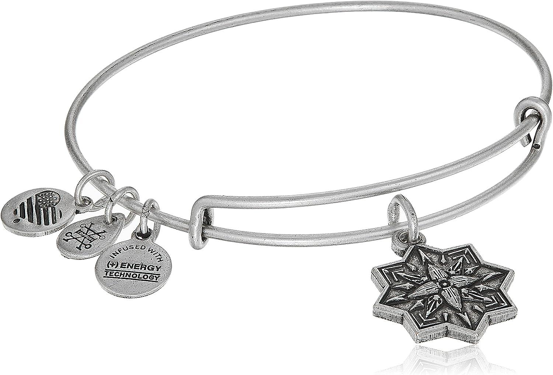 Alex and ANI Healing Love II Bangle Bracelet, Expandable