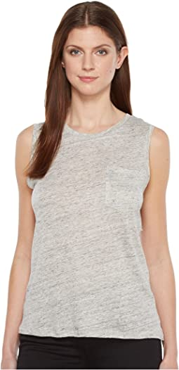 Blank NYC - Sleeveless Tank Top in Embrace The Gray