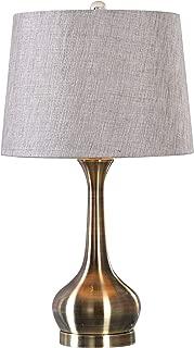 Uttermost Balle Antique Brass Genie Bottle Table Lamp