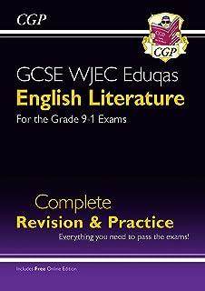Grade 9-1 GCSE English Literature WJEC Eduqas Complete Revision & Practice (with Online Edition)
