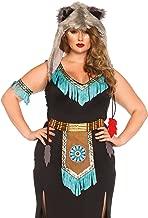 Leg Avenue Women's Plus-Size Wolf Warrior Costume