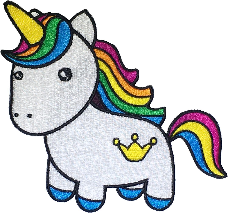 Rainbow Unicorn Iron On Patch