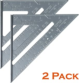 Mr. Pen- Triangle Ruler, Pack of 2, Rafter Square, 7
