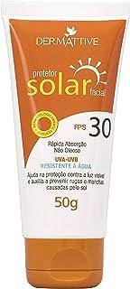 Dermattive Protetor Solar Facial FPS 30, Dermattive BR, Laranja