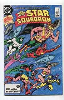 All Star Squadron #60 NM Justice Society Is Back DC Comics CBX18B
