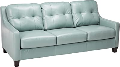 Amazon.com: Colton Sofa with Elegant Design Style Brown ...