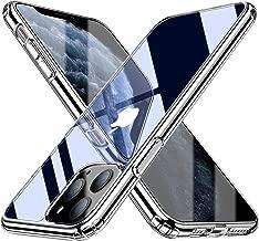 Blukar Funda iPhone 11 Pro, Carcasa Caso Transparente Silicona Anti-Arañazos Absorción de Choque con PC Duro Panel Posterior + Marco Reforzado de TPU Suave y Esquinas Reforzadas