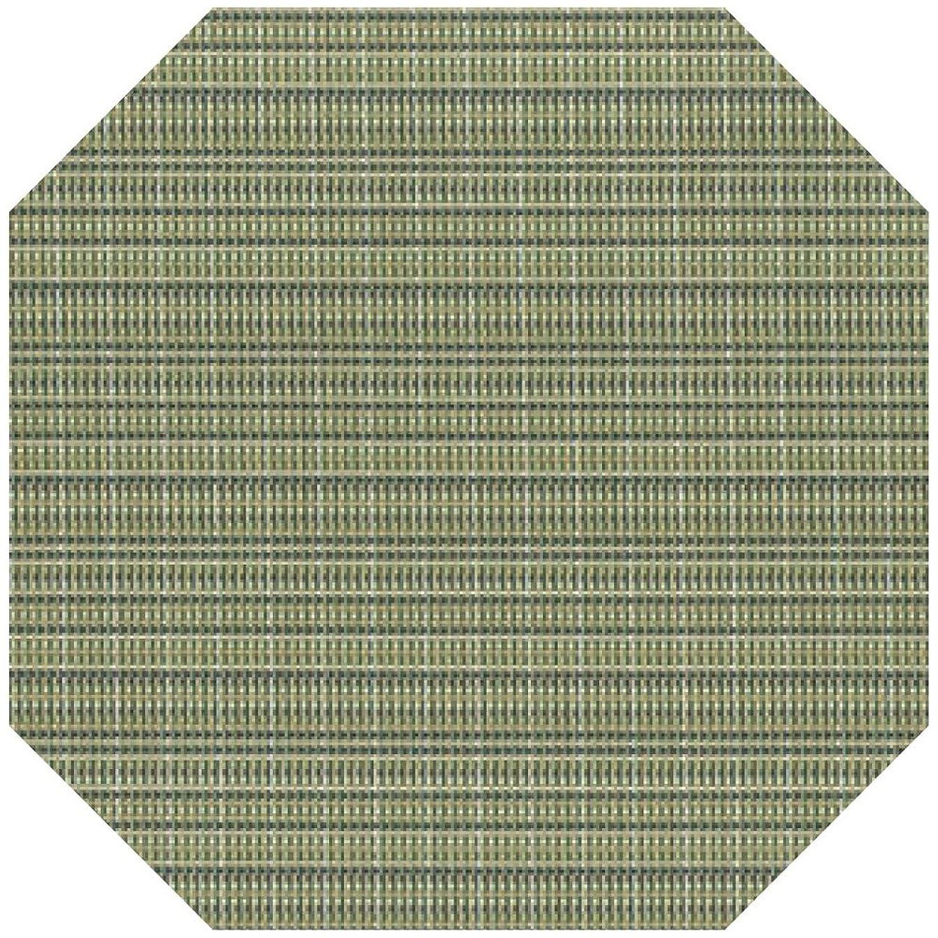 液体発表するランチランチョンマット : 福井クラフト 敷マット フレッシュグリーン(隅切/ストロング?3-146-1 尺0) 320x320mm