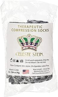 Celeste Stein Cmps-Box Therapeutic Compression Socks, 8-15 mmHg