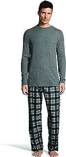 Men's Micro Fleece Pant Set with Waffle Top